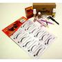Kit Henna Sobrancelha+moldes+pincel+anel+aparador+paquimetro