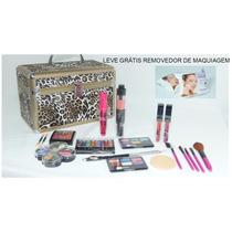 Kit Com 2 Maletas + Kit Mix Revenda Maquiagens - Ruby Rose