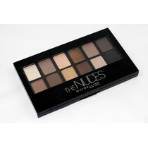 Paleta Maybelline The Nudes Thenudes Sombras Naked