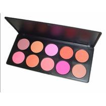 Paleta Blush 10 Cores Importada Estojo Maquiagem