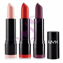 Nyx Round Lipstick Batom Cremoso Original Lss