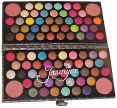 Maquiagem Paleta Jasmyne 3d 84 Sombras 4 Blush V952 + Brinde