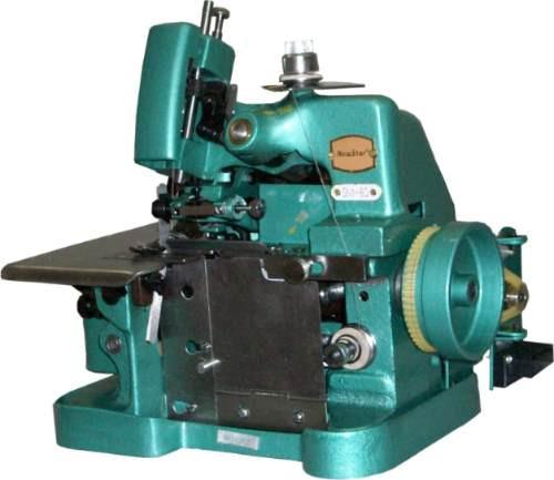 Máquina De Costura Overlock Semi Industrial Portátil * Nova