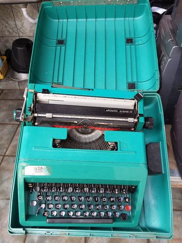 Máquina De Escrever Olivetti Studio 45