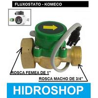 Fluxostato Chave Fluxo Komeco Automatizador P/bombas 4a/1,6a