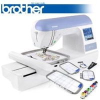 Maquina De Bordado Brother Pe-770 De Brinde 600.000 Bordados