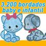Coleção Bordados Baby E Infantil Pes, Jef Ou Outros