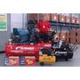 Compressor De Ar Industrial 40 Pcm 350 Lts 10 Hp Schrader