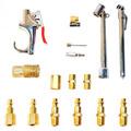 Kit De Acessórios Para Compressor Com 17 Peças