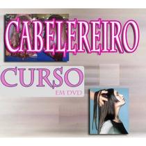 Cabelereiro Aulas 11 Dvds Completo! Pague Com Mercado Pago
