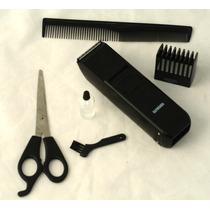 Máquininha Barba Cabelo Pelos Fazer Pézinho Recarregável