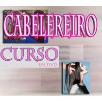 Curso Cabelereiro 14 Dvds Aulas Completo! Pague Mercado Pago
