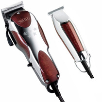 Kit De Máquina Wahl Magic Clip 220v + Wahl Detailer