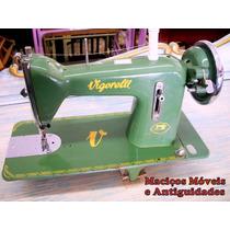 Máquina De Costura Vigorelli ( Antiguidade , Decoração )