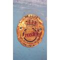 Emblema Antigo Da Maquina De Costura Crosley