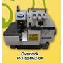 Máquina De Costura Overlock Industrial 3 Fios Completa +nf