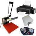 Kit De Maquinas E Impressora Para Estampar Camisetas Canecas
