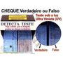Lanterna Detecta Dl01 Detectora Cheque Clonado Negocio