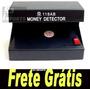 Máquina Profissional Detecta Dinheiro Falso + Frete Gratis