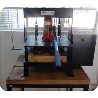 Maquina De Fazer Chinelos De Corte Duplo Super Completa Nova