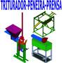 Projeto Prensa Tijolo Ecológico+ Triturador+ Peneira+ Brinde