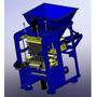 Projeto De Máquina De Bloco Pneumática Completo+frete Grátis