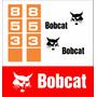 Kit Adesivos Bobcat 853 - Decalx