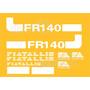 Kit Adesivos Fiatallis Fr 140v - Decalx