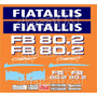 Kit Adesivos Fiatallis Fb 80.2 - Decalx