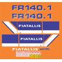 Kit Adesivos Fiatallis Fr 140.1 - Decalx