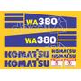 Kit Adesivos Komatsu Wa380 - Decalx