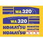 Kit Adesivos Komatsu Wa320 - Decalx