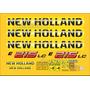 Kit Adesivos New Holland E215 Lc - Decalx