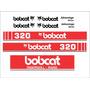 Kit Adesivos Bobcat 320n - Decalx