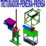 Projeto Prensa Tijolo Ecológico Triturador E Peneira+brinde