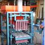 Máquina De Blocos Pneumática Atlântica Máquinas (completa)