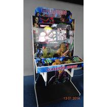 Máquina Multijogos Virtual Lcd 32 Arcade Sob Encomenda