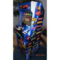 Máquina Multijogos Gabinete Retrô 19 Arcade Sob Encomenda