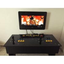 Fliperama Portátil Arcade Multi Jogos Hyperspin Mame