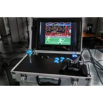Arcade Portatil Fliperama Emuladores Mame Nintendo Sega