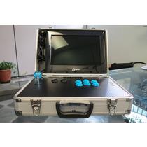 Fliperama Portatil Arcade Multi-jogos Com Monitor De 14 Pol