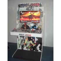 Gabinete Fliperama Arcade Multijogos 32
