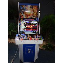 Máquina Multijogos Avançada Led 22 Arcade C/ Ficheiro