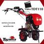 Motocultivador Diesel Toyama Tdt110 9cv Part Elé 135cm Arado
