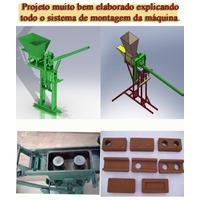 Pacote Com 3 Projetos( Dobrador D Tubo )( Prensa D Tijolo )