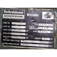 Extrusora 100mm Corte Na Cabeça Reifenhauser Primomaquinas