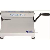 Encadernadora Perfuradora Duplamatic 2 X 1 Duplo Anel Wire-o