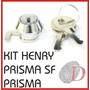 Kit De Fechadura Relógio De Ponto Henry Prisma / Prisma Sf