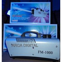 Maquina De Fumaça 1000w + Controle Sem Fio 110v