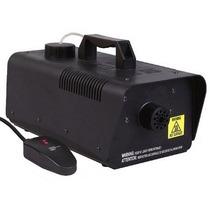 Máquina De Fumaça 400w C/ Controle + Liquido 1litro